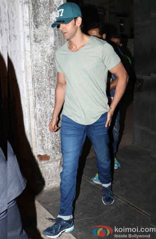 Hrithik Roshan spotted at Salim Sulaiman office