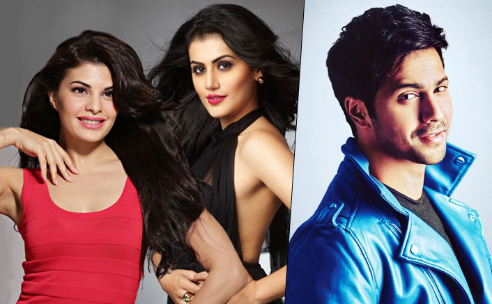 It's Official! Jacqueline & Taapsee To Romance Varun In Judwaa 2