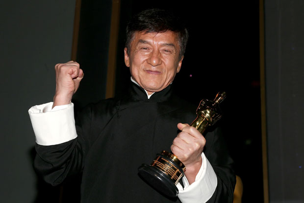 Jackie Chan Wins First Oscar at Governors Awards