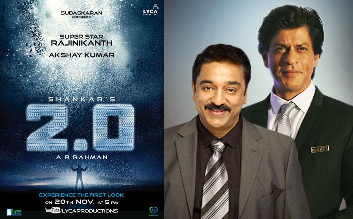Kamal Haasan, Shah Rukh Khan invited for '2.o' first look launch