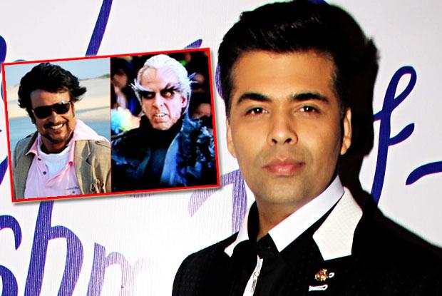 Karan Johar to host '2.o' first look launch
