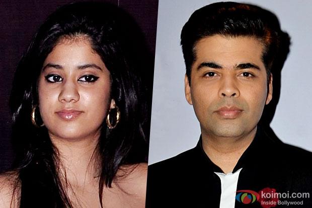 KJo To Launch Sridevi-Boney Kapoor's Daughter Jhanvi