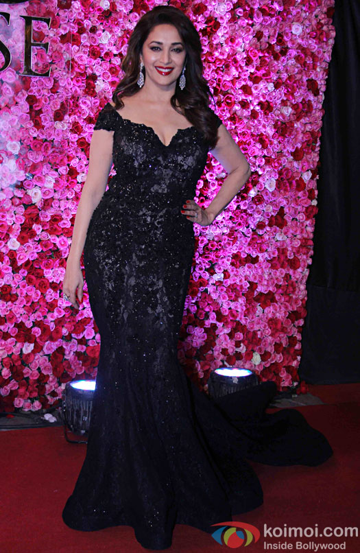 Madhuri Dixit during the Lux Golden Rose Awards 2016