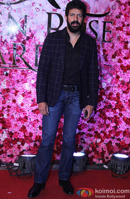 Kabir Khan during the Lux Golden Rose Awards 2016
