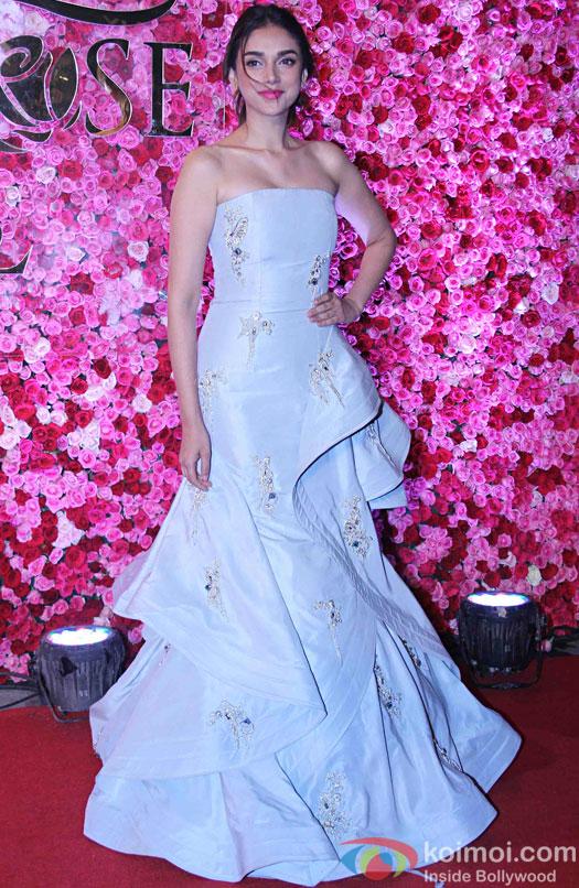 Aditi Rao Hydari during the Lux Golden Rose Awards 2016