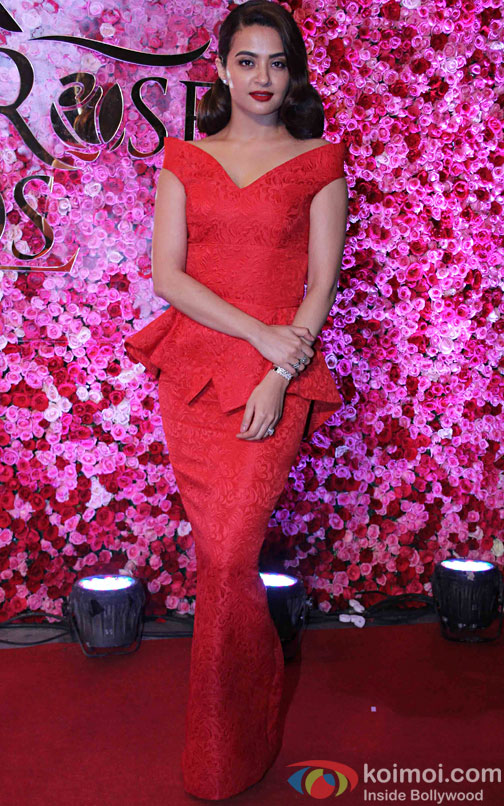 Surveen Chawla during the Lux Golden Rose Awards 2016