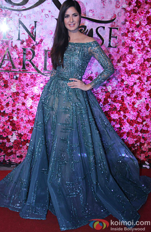 Katrina Kaif during the Lux Golden Rose Awards 2016