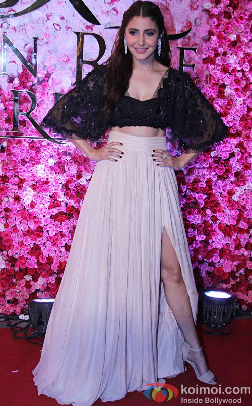 Anushka Sharma during the Lux Golden Rose Awards 2016