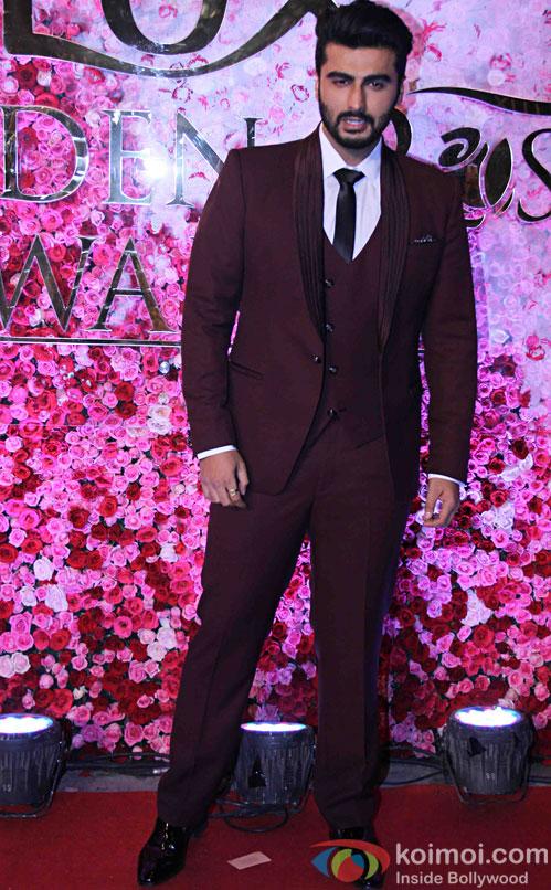 Arjun Kapoor during the Lux Golden Rose Awards 2016