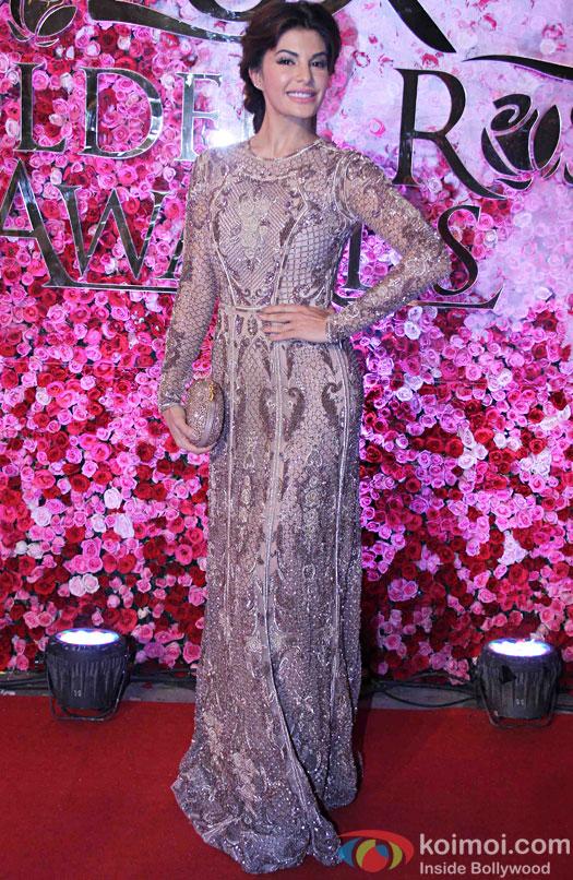 Jacquline Fernandez during the Lux Golden Rose Awards 2016