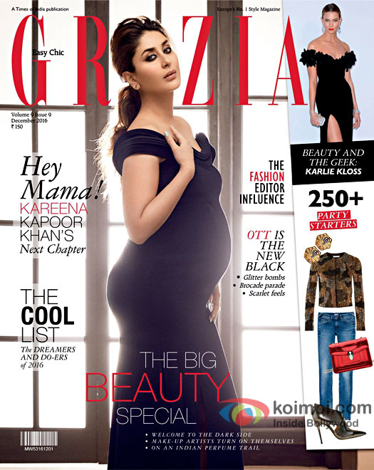 Mommy-To-Be Kareena Kapoor Khan Looks Gorgeous On Grazia Cover