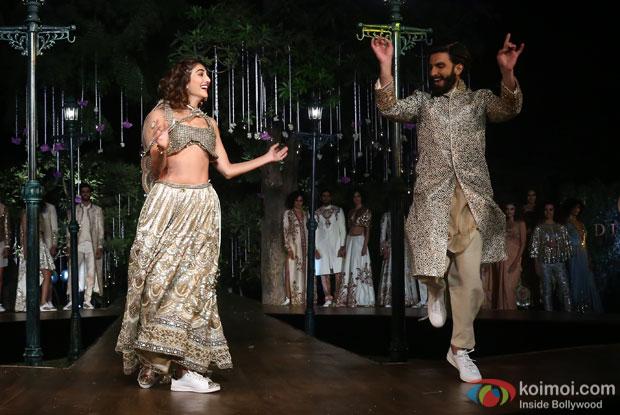 H.E. Mr Alexandre Ziegler, Hosts A Soiree Celebrating Befikre Wiwth Ranveer Singh And Vaani Kapoor