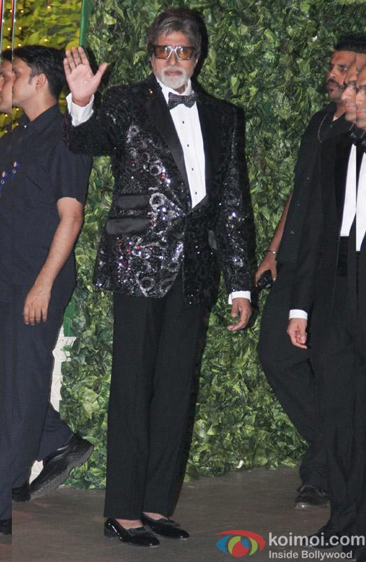 Amitabh Bachchan at Mukesh and Nita Ambani's niece Isheta's Pre wedding Party