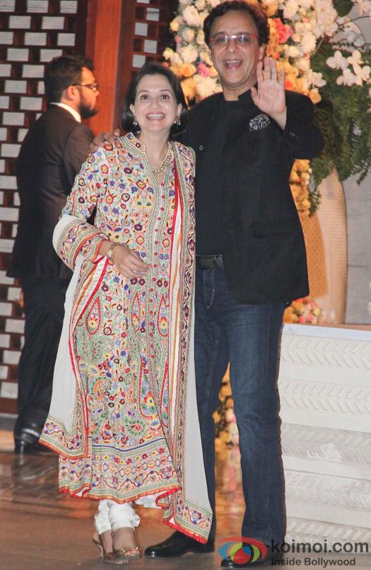 Madhu Chopra and Vidu vinod Chopra at Mukesh and Nita Ambani's niece Isheta's Pre wedding Party