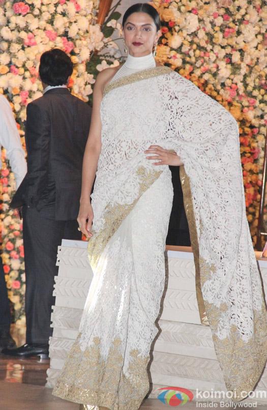 Deepika padukone at Mukesh and Nita Ambani's niece Isheta's Pre wedding Party