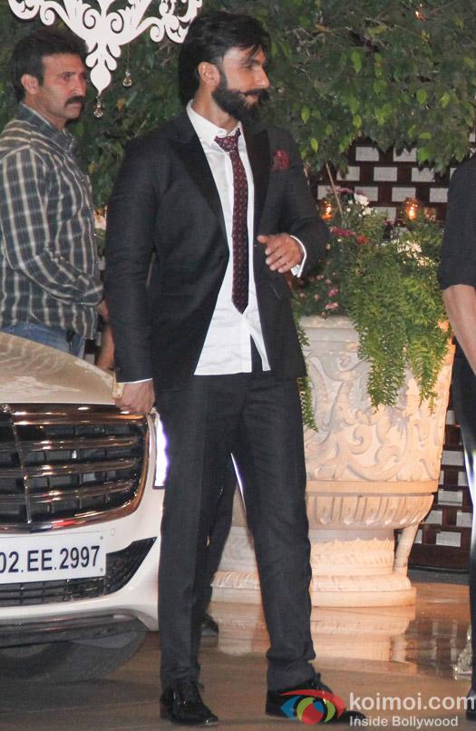 Ranveer Singh at Mukesh and Nita Ambani's niece Isheta's Pre wedding Party
