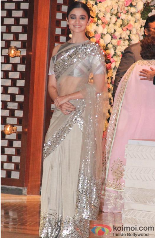 Alia Bhatt at Mukesh and Nita Ambani's niece Isheta's Pre wedding Party