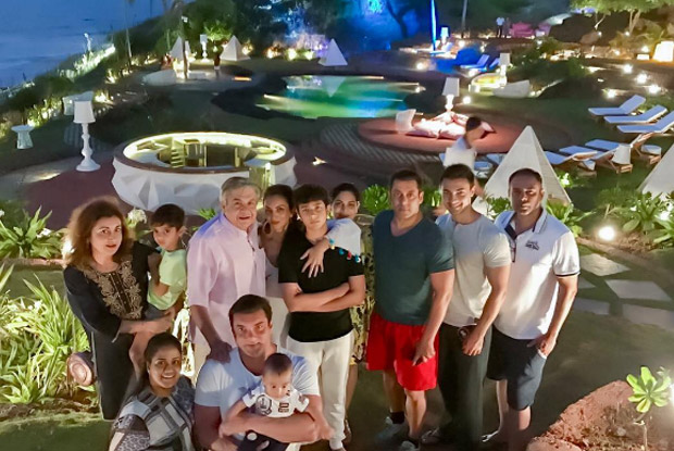 salman Khan, Ayush Sharma and Sohail Khan Enjoys Diwali Celebrations With Family In Goa