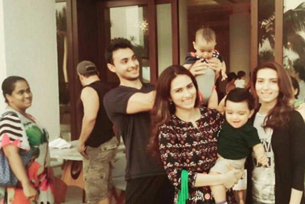 Ayush Sharma and Arpita Khan Enjoys Diwali Celebrations With Family In Goa