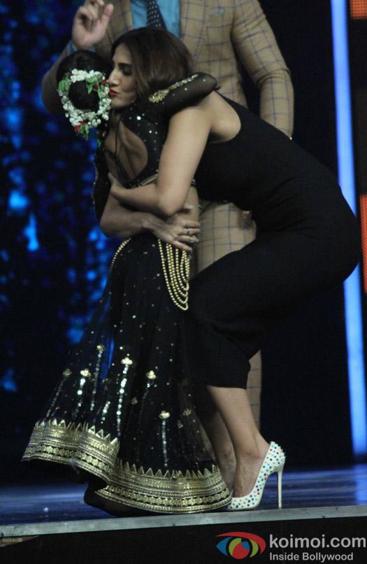 Vaani Kapoor during the Promotion of film Befikre on the sets of Super Dancer