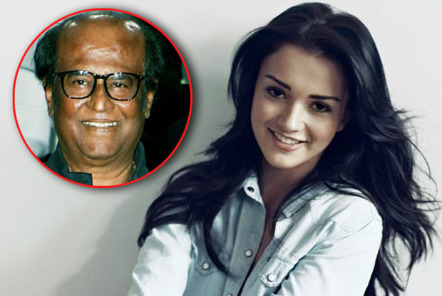 Rajinikanth a quiet, humble person, says Amy Jackson