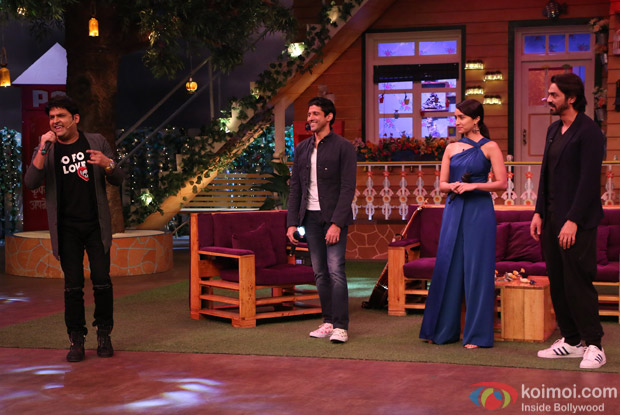 Catch Photos: Rock On 2 Team On The Sets Of 'The Kapil Sharma Show