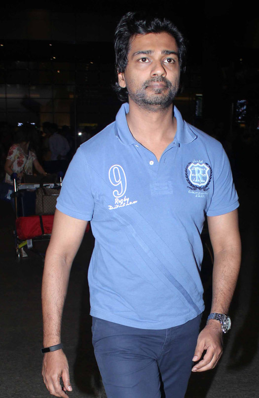 Nikhil Dwivedi Spotted at Airport