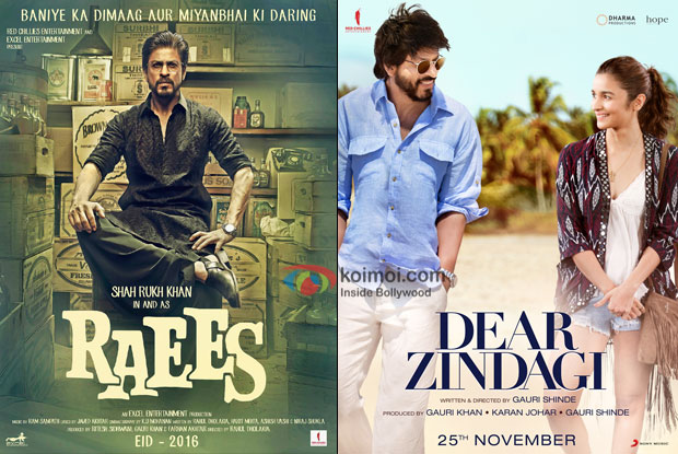 Shah Rukh Khan's Raees Trailer To Be Out With Dear Zindagi
