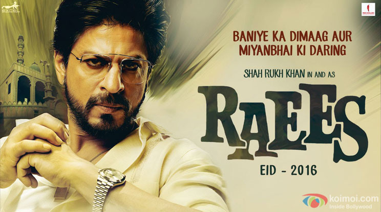 Shah Rukh Khan's Raees Trailer Will Be Out In December!