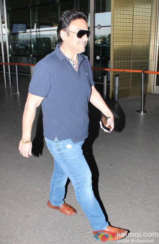Adnan Sami spotted at airport