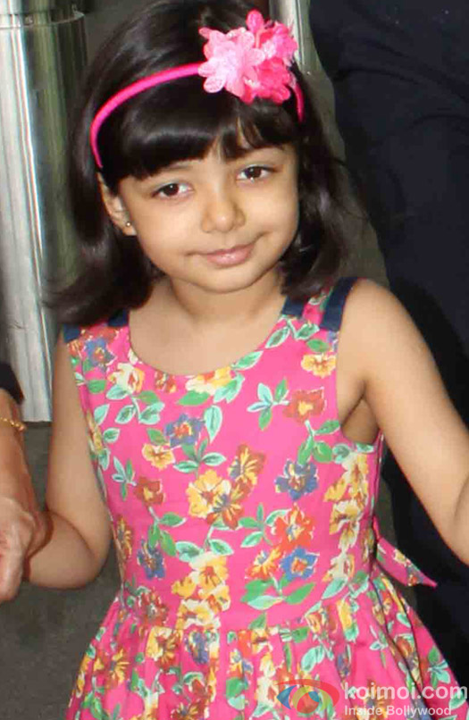 Aaradhya Bachchan spotted at Airport