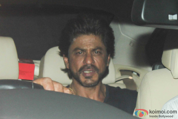 Shah Rukh Khan during the special screening of Dear Zindagi