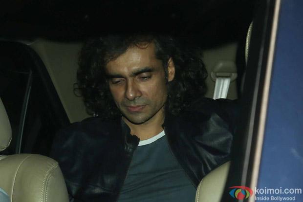 Imtiaz Ali during the special screening of Dear Zindagi