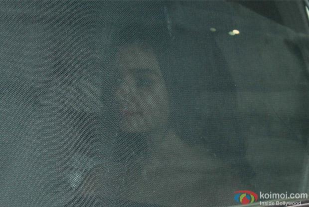 Alia Bhatt during the special screening of Dear Zindagi
