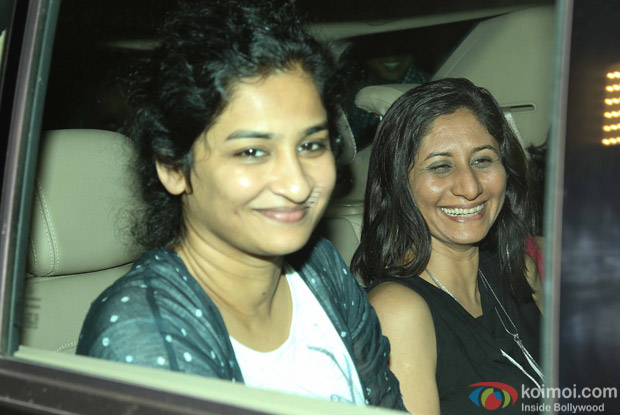 Gauri Shinde during the special screening of Dear Zindagi