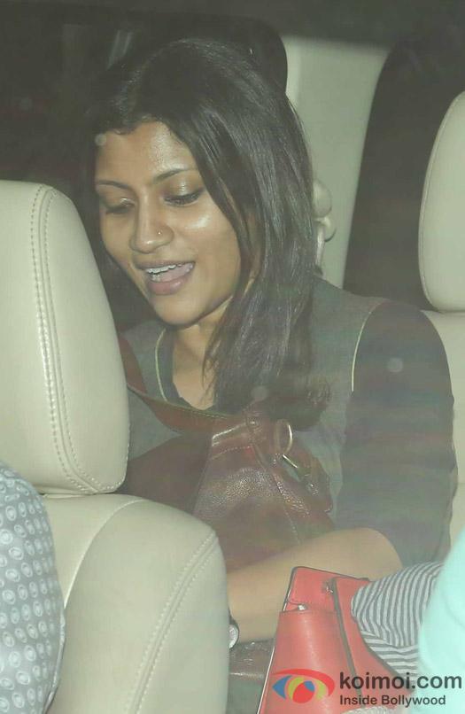 Konkona Sen Sharma during the special screening of Dear Zindagi