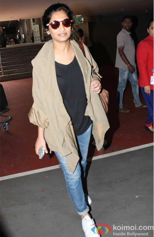 Gauri Shinde spotted at Airport