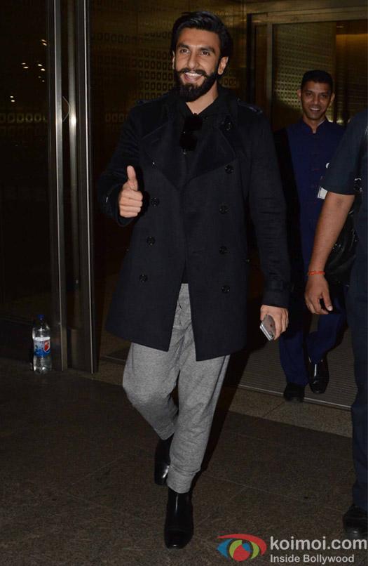 Ranveer Kapoor spotted at Airport