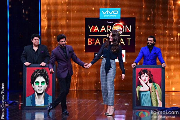Shah Rukh Khan And Anushka Sharma To Appear On Yaaron Ki Baraat