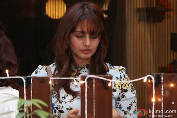 Huma Qureshi spotted at BBlunt salon Bandra