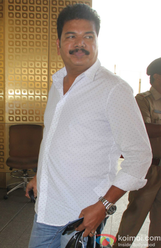 S Shankar spotted at Airport