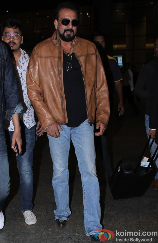 Sanjay Dutt spotted at Airport