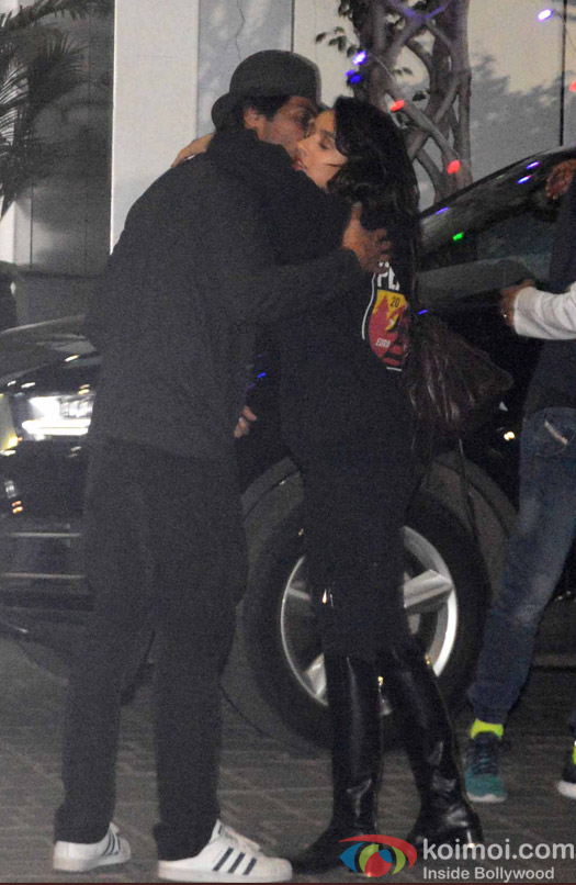 Shraddha Kapoor and Arjun Rampal spotted at Airport