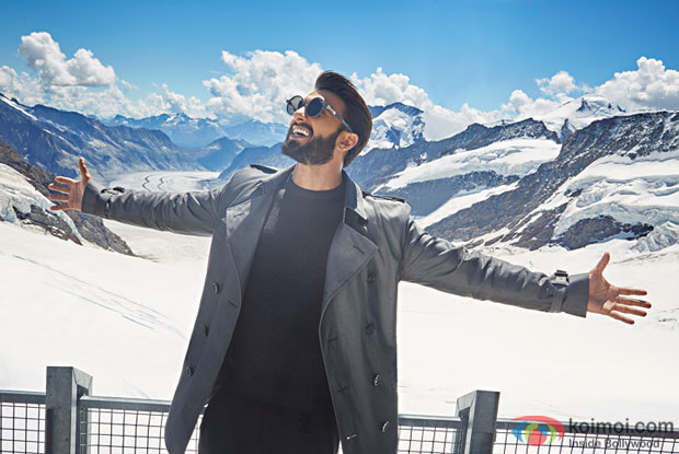 The Actor Ranveer Singh Takes On The Mantle Of Band Ambassador For Switzerland