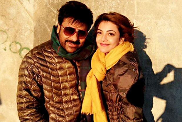 The Chiranjeevi- Kajal Aggarwal pairing in Khaidi No 150 receives a thumps up from fans!