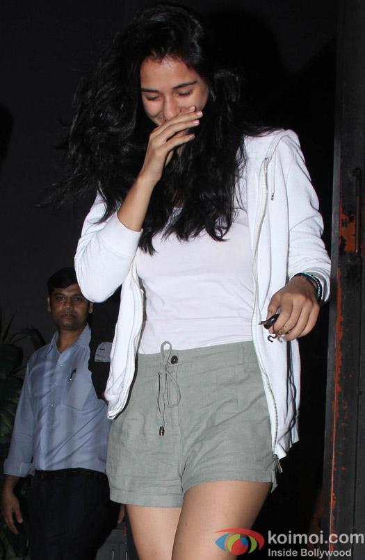 Disha Patani spotted at Bandra