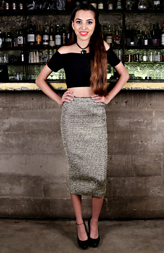 Aaliyah Kashyap Models for Aavanatm - A Highstreet Fashion Portal