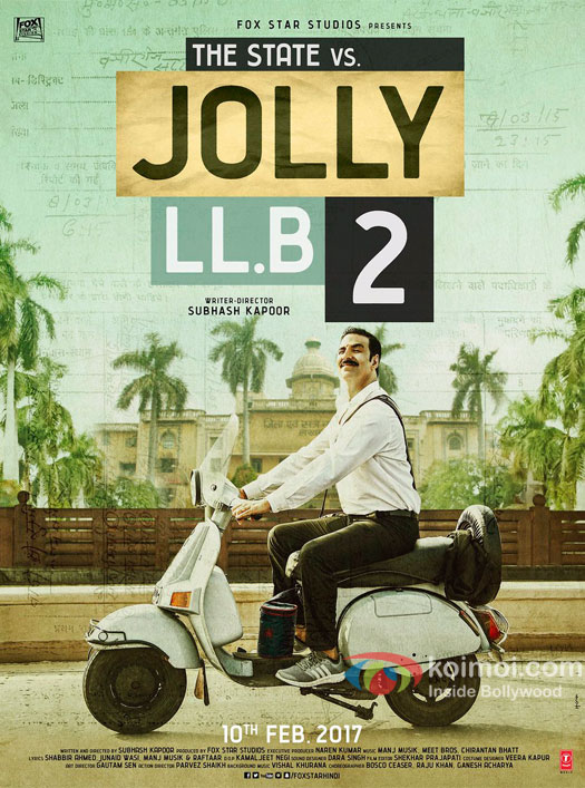 Akshay Kumar Starrer Jolly LLB 2 First Look Out Now!