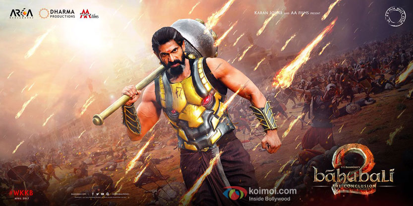 Check Out: Rana Daggubati's Menacing Look From Baahubali 2