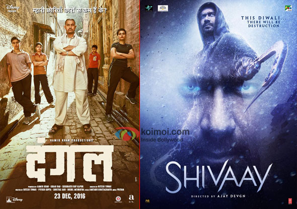 Dangal Becomes 7th Highest Grosser Of 2016 In 3 Days; Beats Lifetime Biz. Of Shivaay